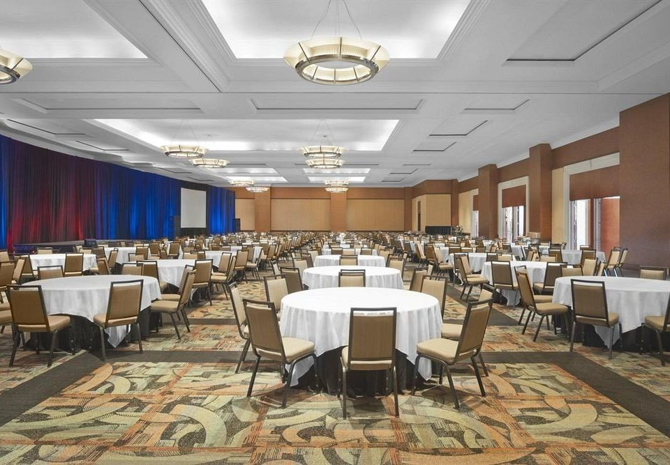 chair function hall conference hall scene auditorium convention center meeting ballroom banquet