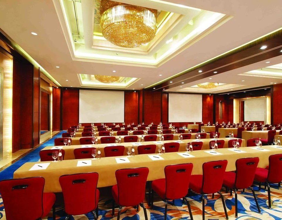 chair function hall auditorium conference hall convention center restaurant banquet ballroom