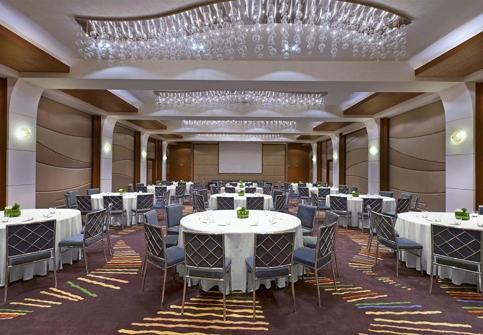 chair function hall conference hall banquet ballroom convention center restaurant wedding reception auditorium