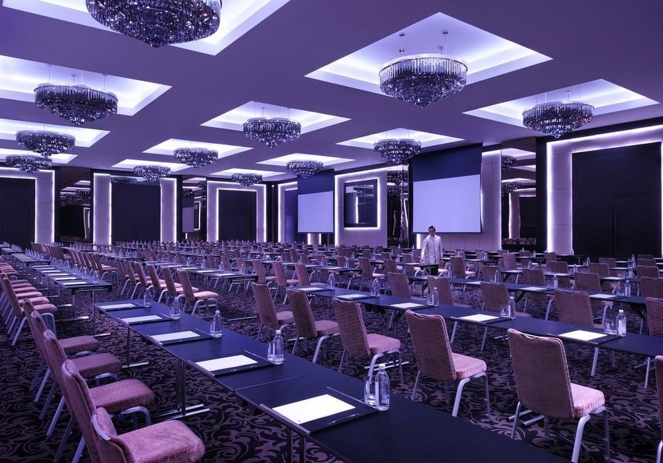 function hall chair auditorium conference hall banquet convention center ballroom convention restaurant set conference room