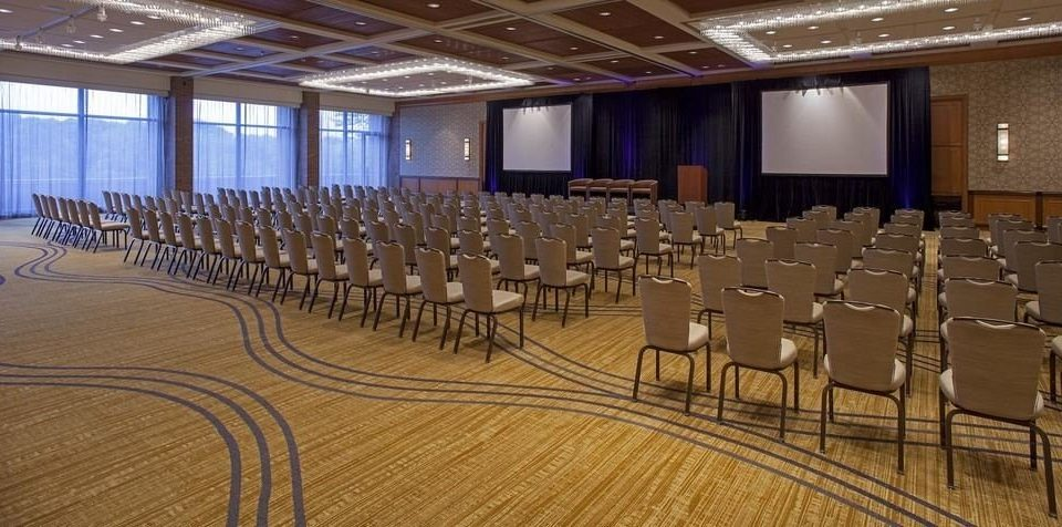 auditorium chair function hall conference hall ballroom convention center convention banquet meeting conference room