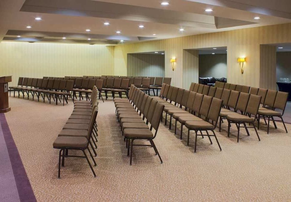 auditorium function hall conference hall convention center banquet meeting ballroom classroom lined
