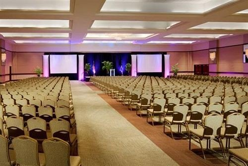 auditorium function hall conference hall banquet convention center ballroom meeting convention hall lined line colored