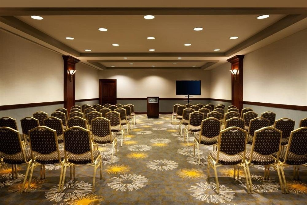 auditorium function hall conference hall convention center meeting ballroom convention banquet set
