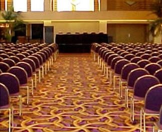 auditorium function hall conference hall ballroom convention center banquet meeting lined