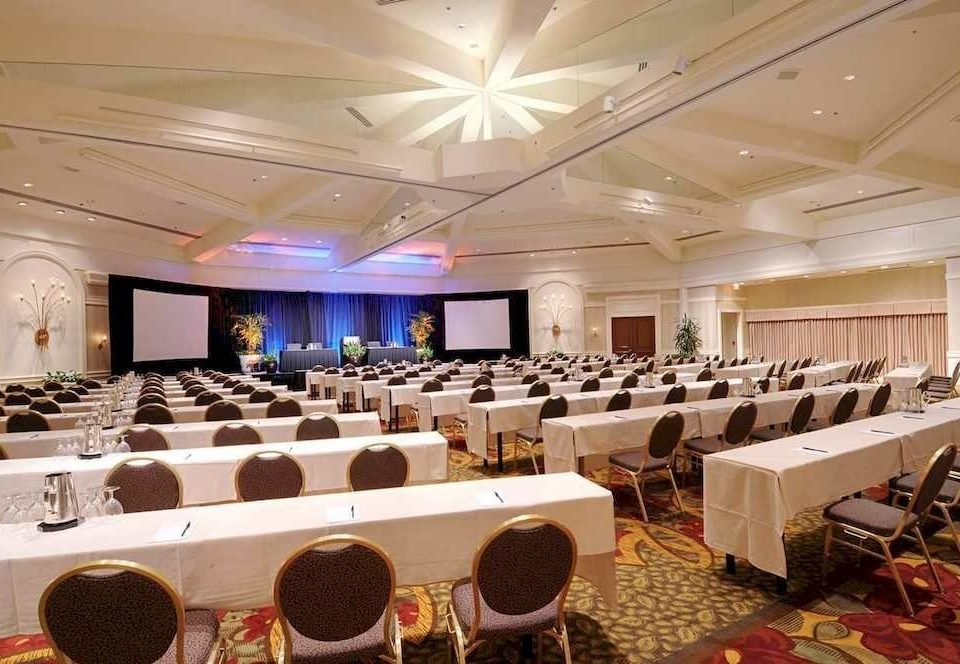 function hall auditorium conference hall banquet scene convention center ballroom meeting convention restaurant conference room