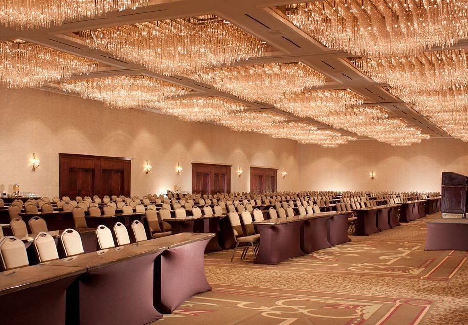 function hall auditorium ballroom conference hall convention center restaurant banquet long line