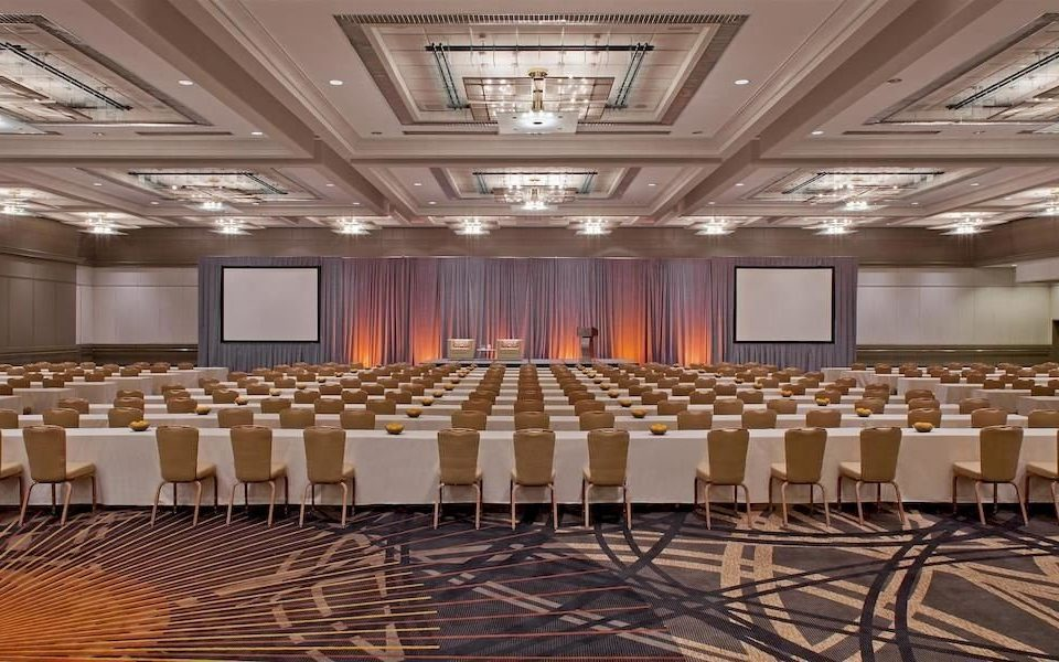 auditorium function hall conference hall performing arts center ballroom stage convention center theatre convention meeting banquet long