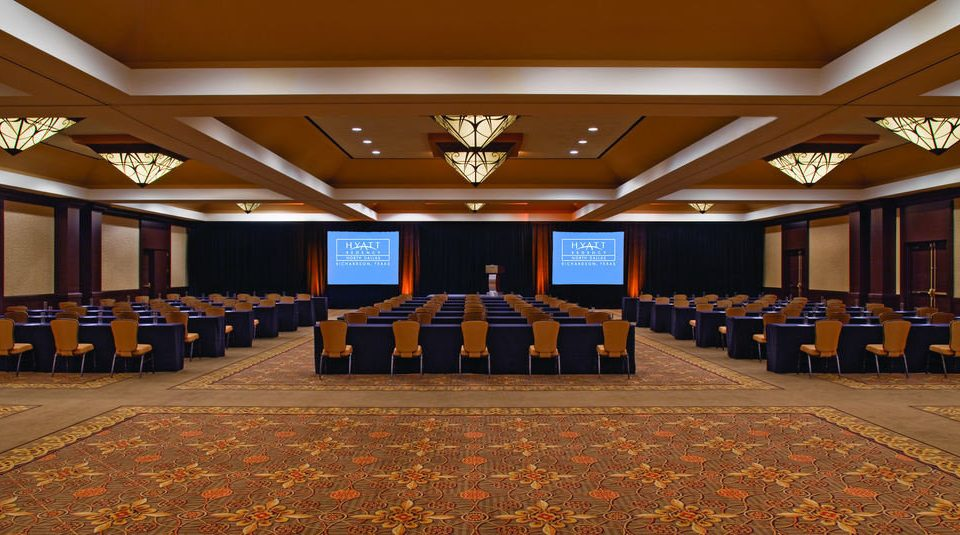 auditorium function hall conference hall ballroom convention center convention hall banquet lined