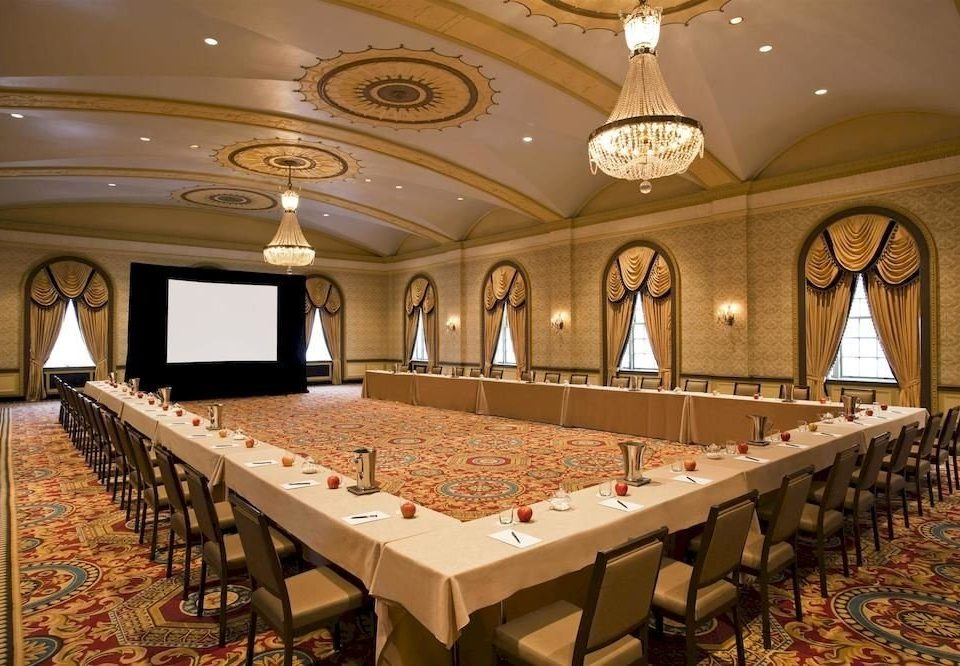 auditorium function hall conference hall billiard room ballroom convention center