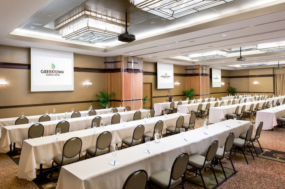 conference hall function hall auditorium classroom convention center cafeteria meeting restaurant ballroom