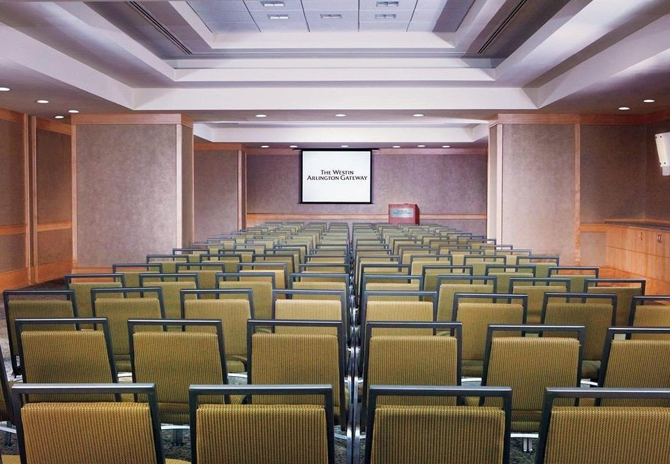 auditorium chair conference hall function hall convention center meeting empty theatre classroom ballroom conference room