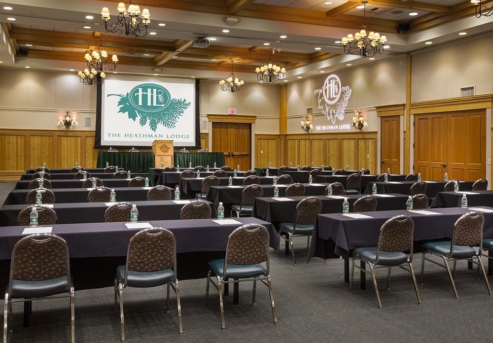 chair auditorium conference hall function hall meeting convention center convention ballroom classroom