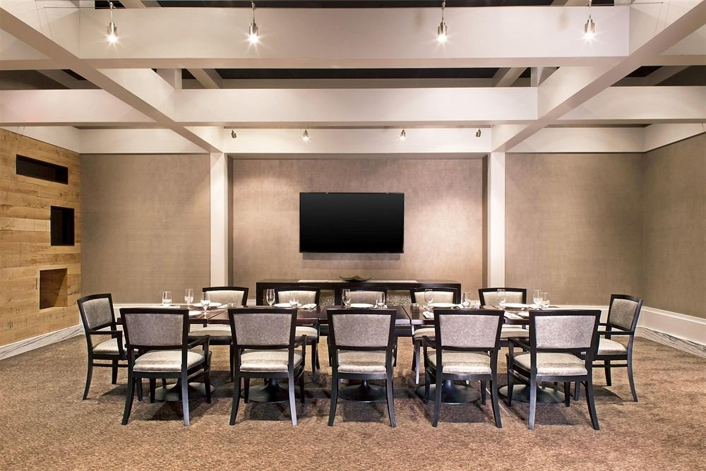 chair auditorium conference hall classroom function hall convention center meeting ballroom conference room dining table