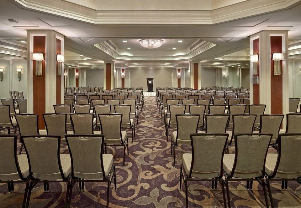 chair auditorium conference hall function hall meeting convention center ballroom classroom convention empty set