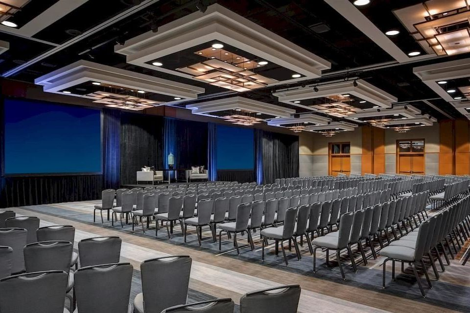 auditorium chair function hall conference hall stage convention center theatre ballroom
