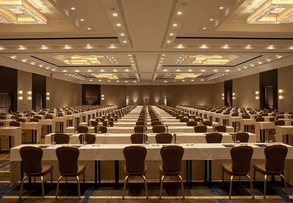auditorium chair function hall conference hall performing arts center ballroom convention convention center meeting long