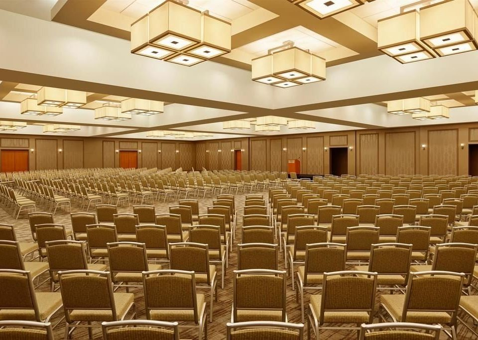 auditorium chair function hall conference hall performing arts center convention center ballroom meeting convention theatre empty
