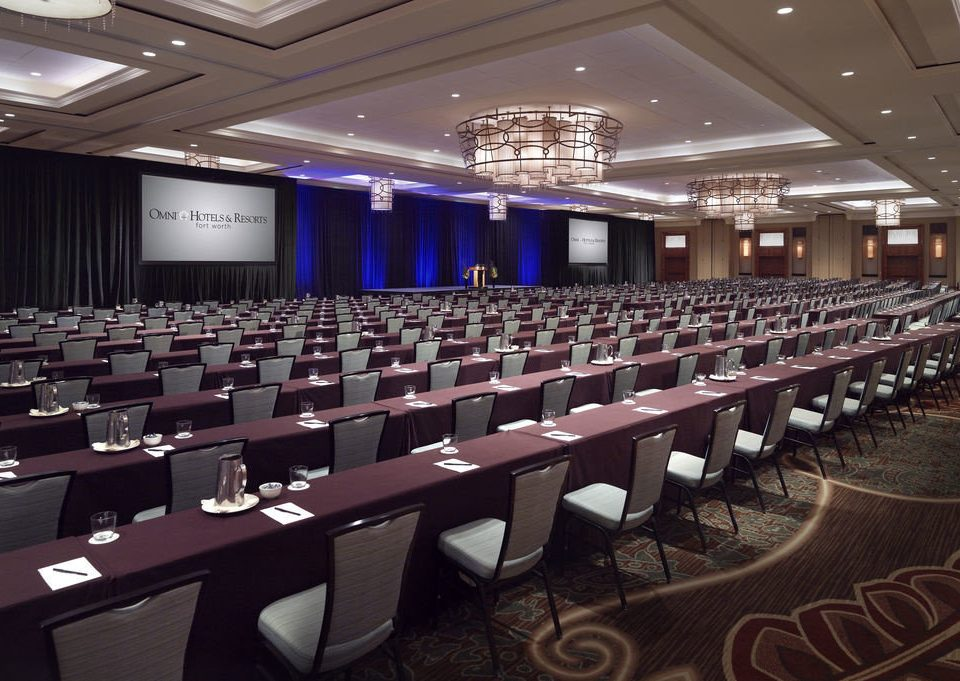 auditorium conference hall function hall scene convention center meeting convention ballroom long hall conference room line