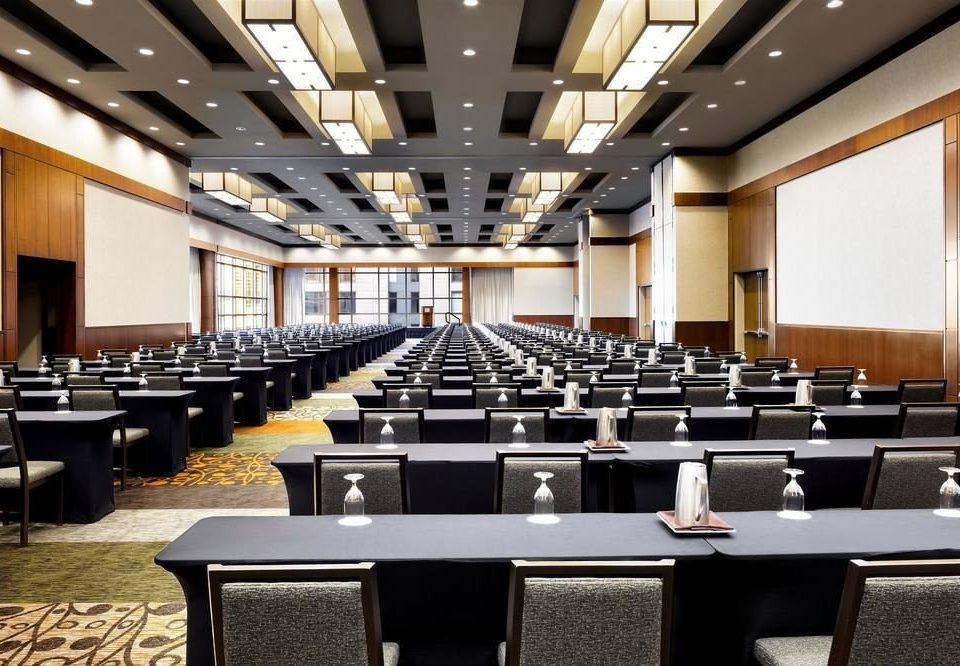 auditorium conference hall function hall convention center meeting convention ballroom long