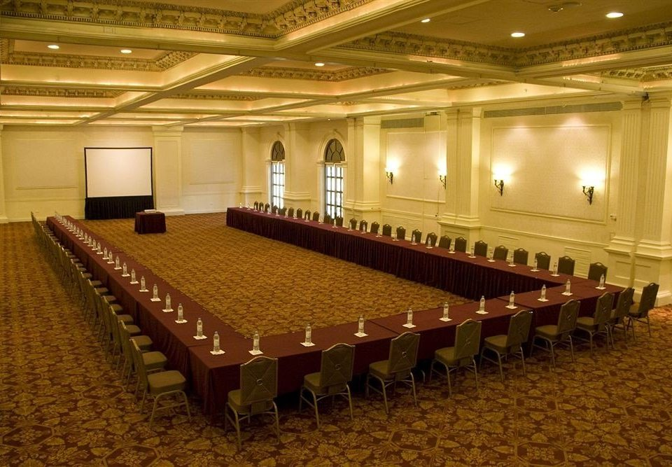 auditorium function hall conference hall performing arts center stage convention center ballroom theatre lined line