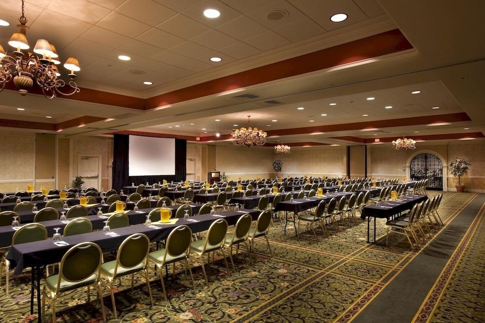 auditorium conference hall function hall convention center lined line row ballroom