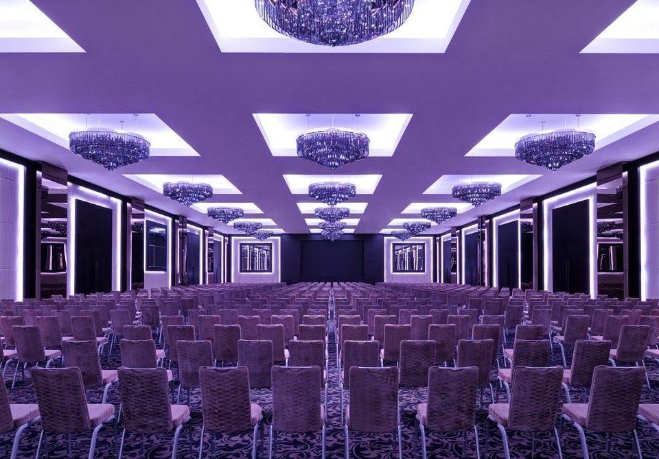 auditorium function hall conference hall purple ballroom convention center theatre