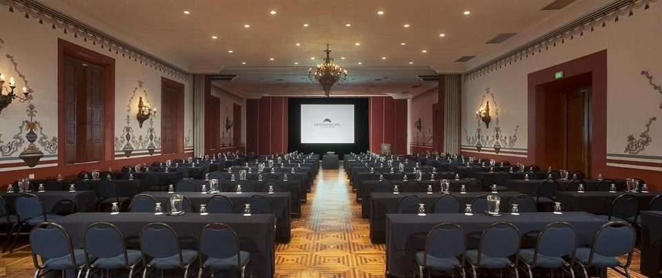 auditorium function hall conference hall ballroom long