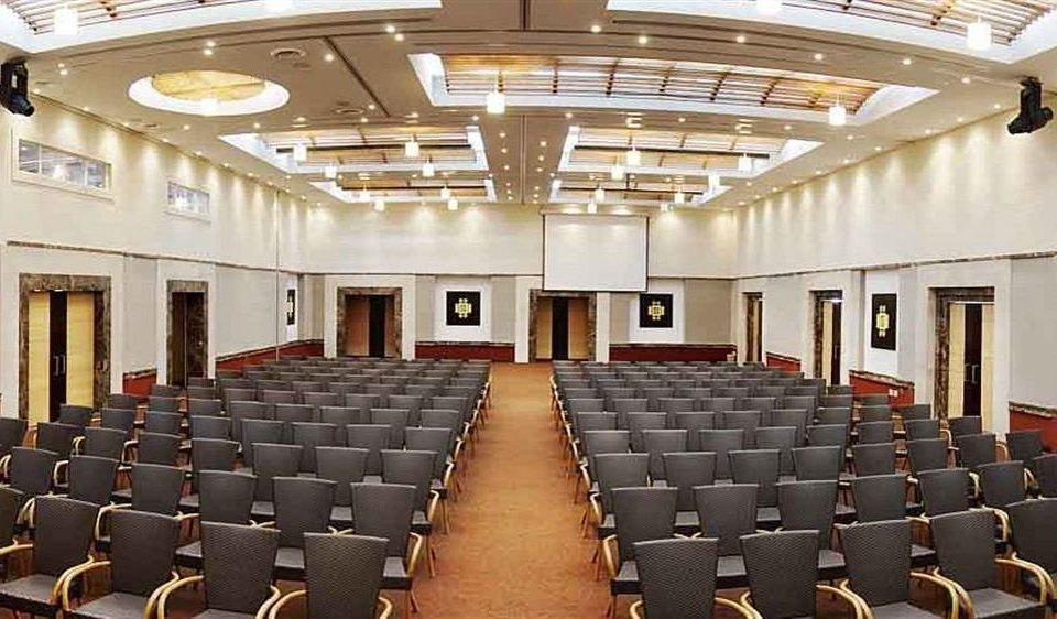 auditorium chair conference hall building performing arts center function hall convention center theatre convention meeting empty