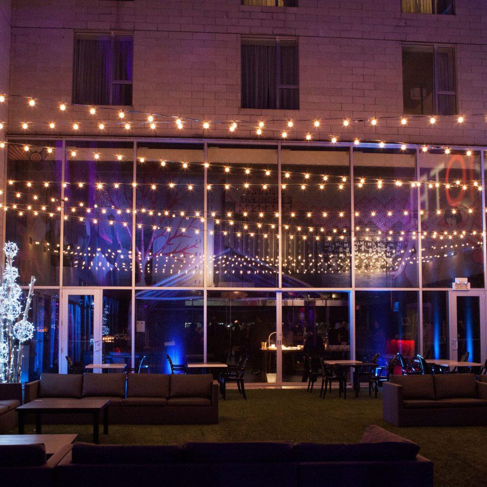 building light stage function hall auditorium theatre nightclub night