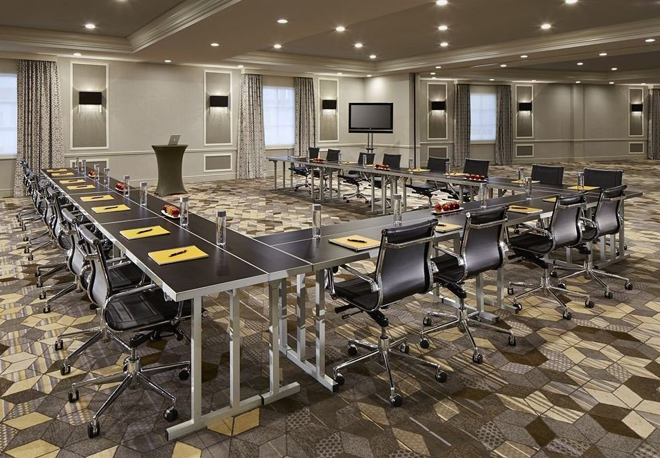 chair conference hall classroom auditorium cafeteria function hall convention center meeting