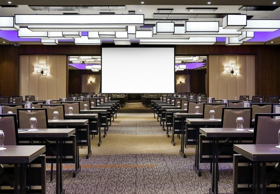 auditorium classroom conference hall function hall convention center restaurant cafeteria meeting