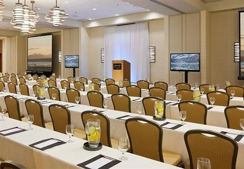 chair conference hall function hall seminar auditorium classroom meeting convention center convention conference room