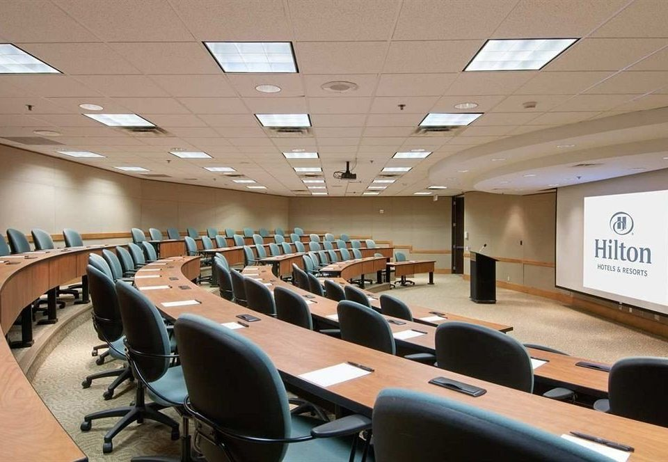chair scene conference hall desk office auditorium conference room classroom meeting convention center