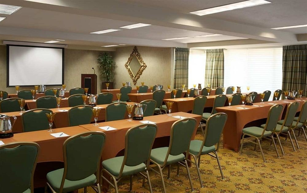 chair conference hall classroom seminar auditorium function hall meeting convention center convention conference room set