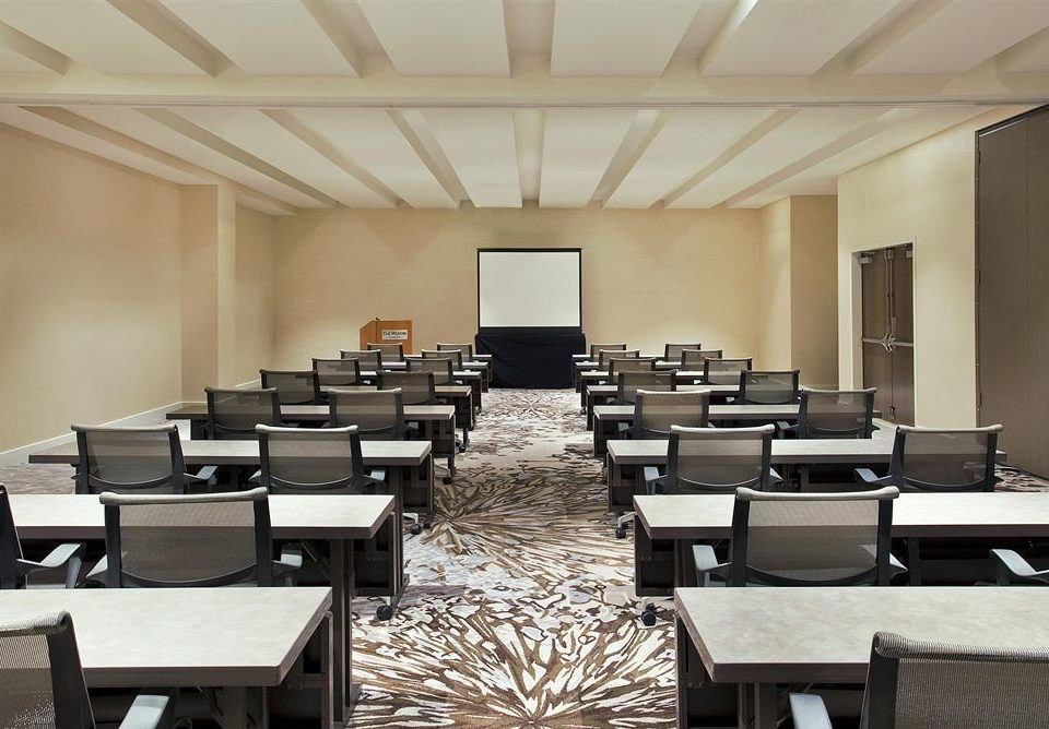 conference hall chair auditorium classroom scene function hall meeting convention center seminar conference room
