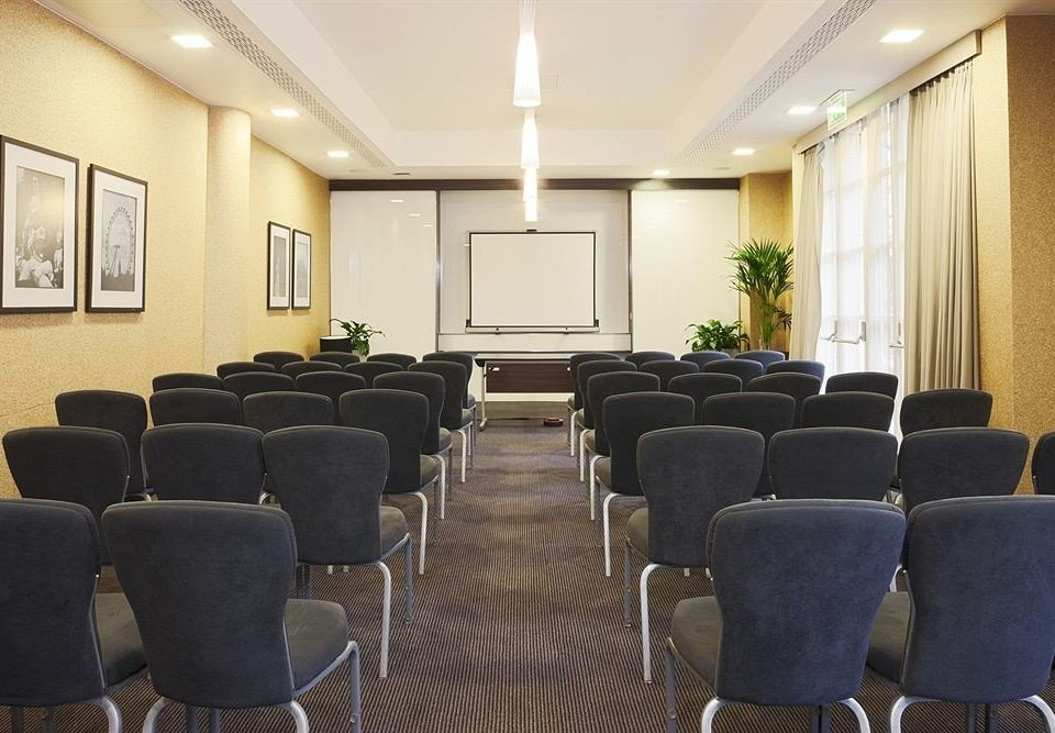 chair conference hall auditorium meeting waiting room function hall set conference room