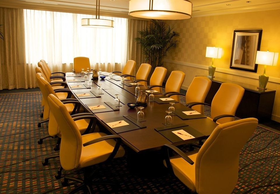 chair conference hall auditorium function hall meeting convention center restaurant conference room