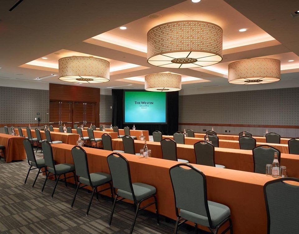 chair conference hall auditorium function hall convention center restaurant conference room