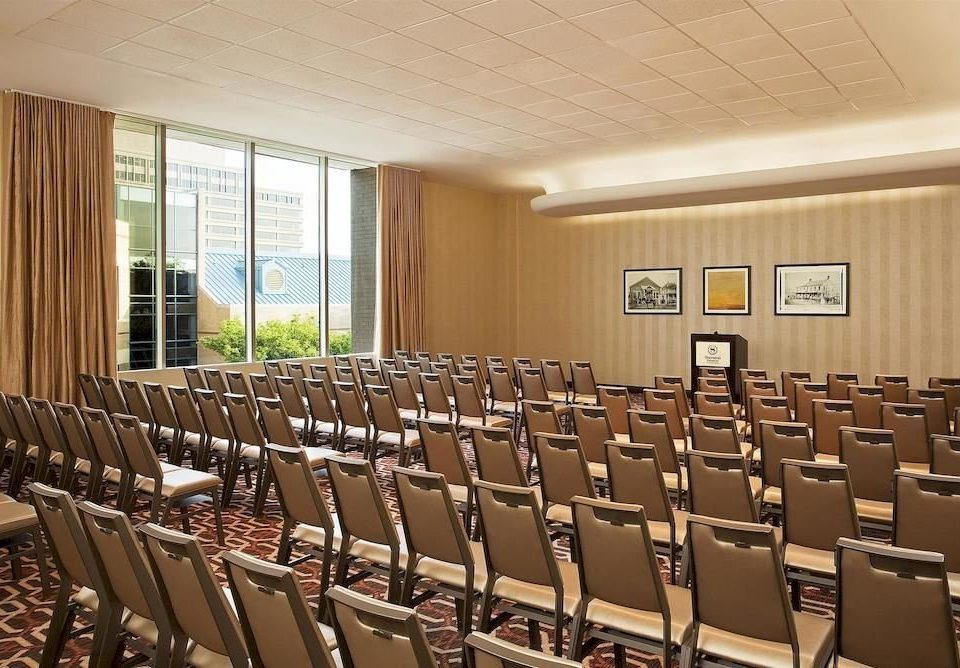 chair auditorium conference hall function hall row convention center meeting lined line set