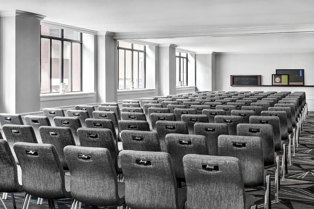 auditorium conference hall classroom colored