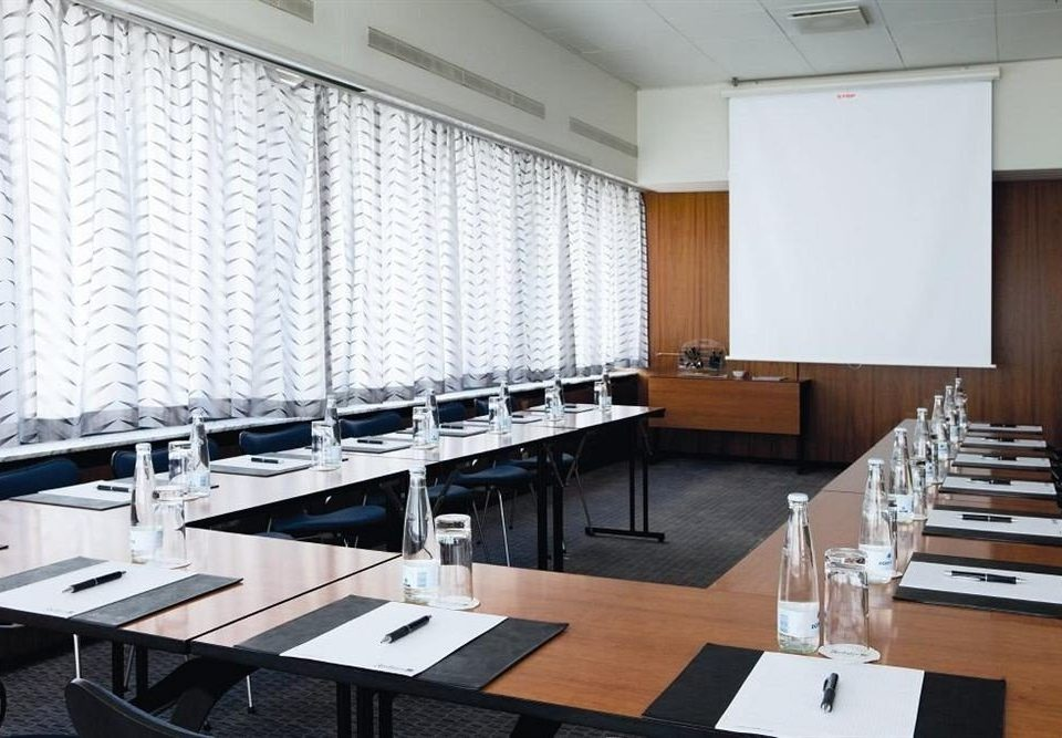 classroom conference hall auditorium office meeting headquarters conference room dining table