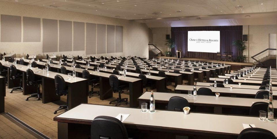 auditorium conference hall classroom function hall meeting convention center conference room