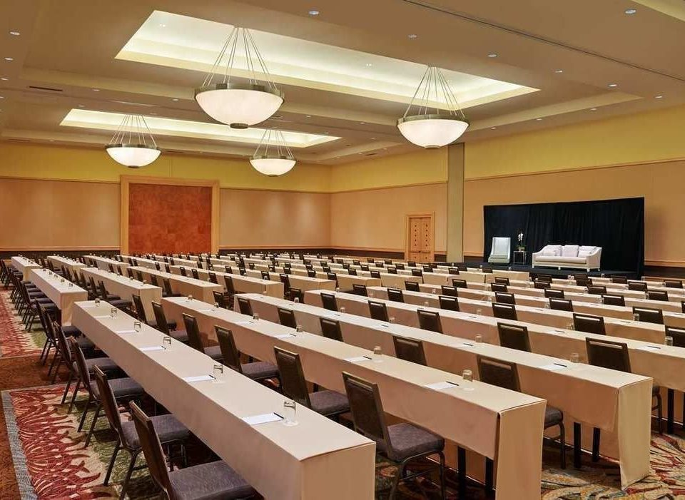 auditorium conference hall classroom function hall convention center long lined