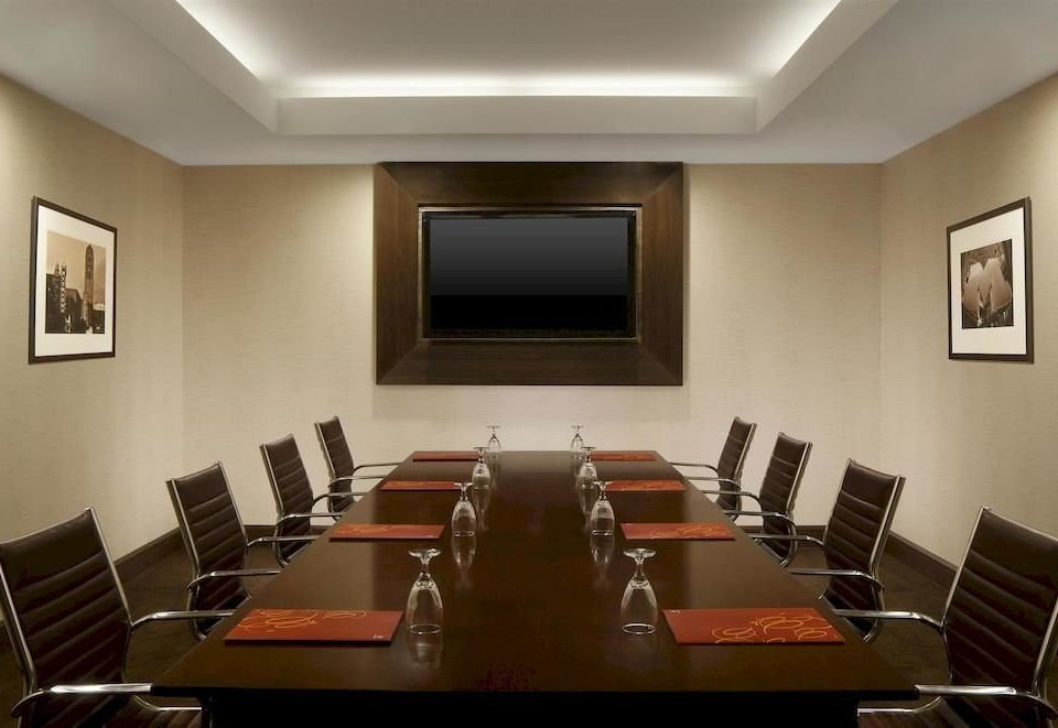 conference hall auditorium function hall meeting leather conference room dining table