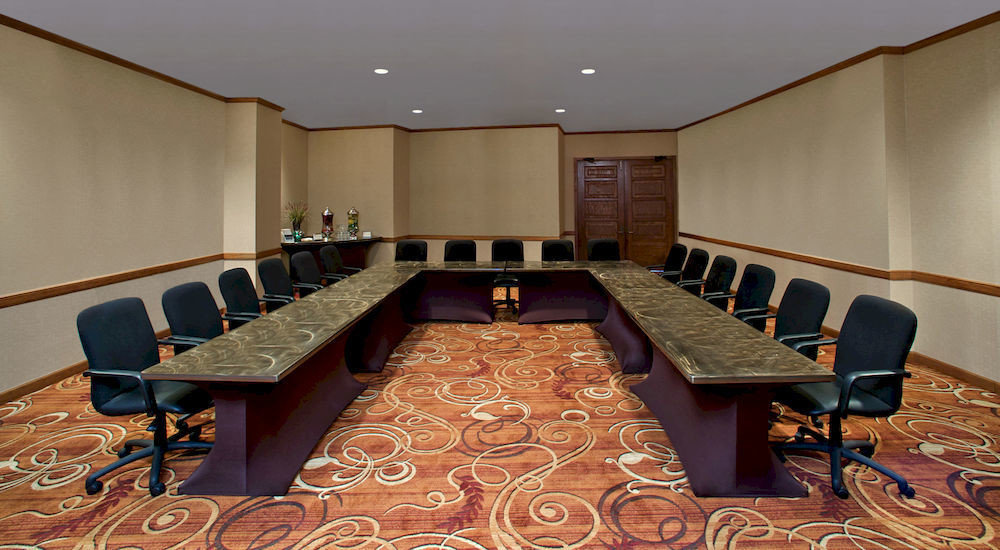 conference hall auditorium recreation room meeting