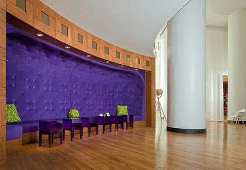 property auditorium purple flooring living room mansion hall