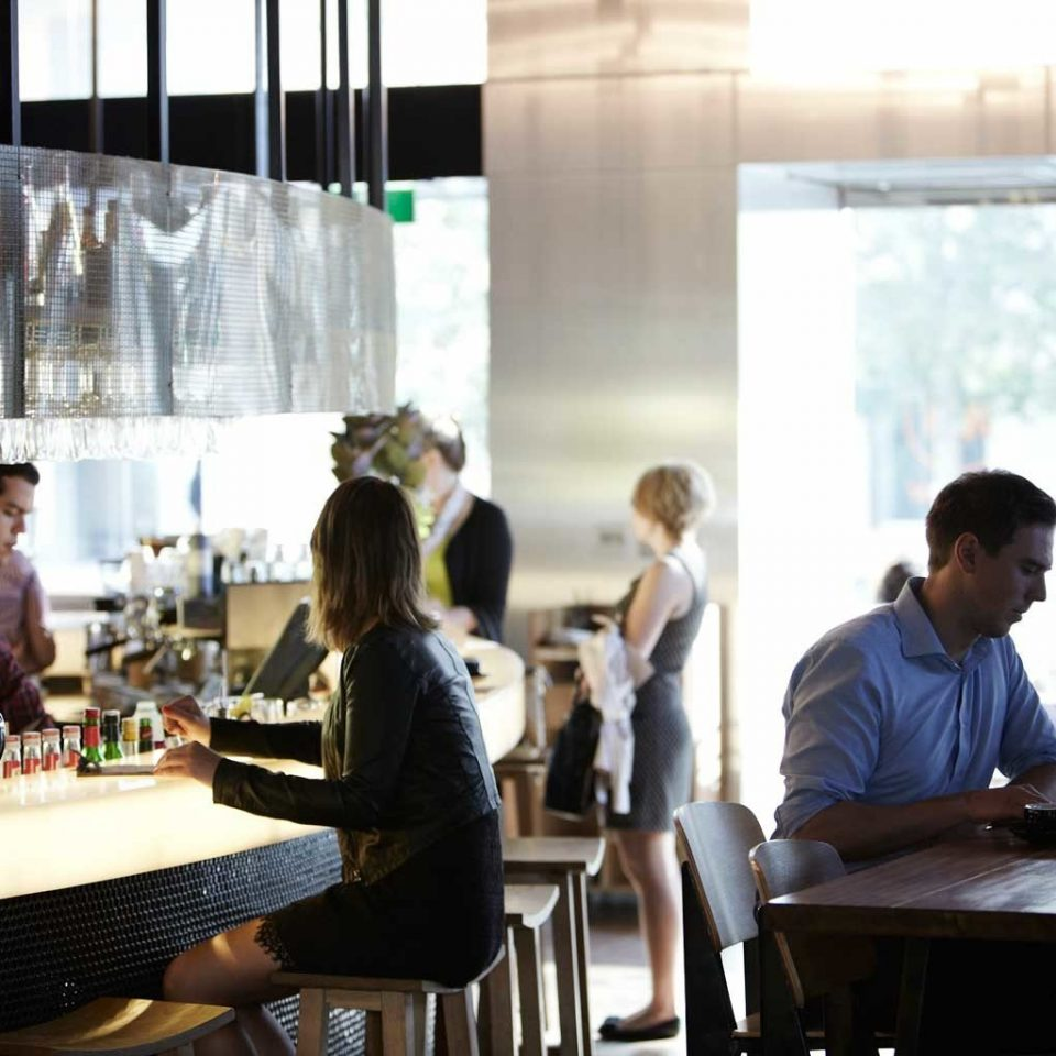 Australia Classic Dining Drink Eat Hotels Melbourne restaurant Bar lunch dining table