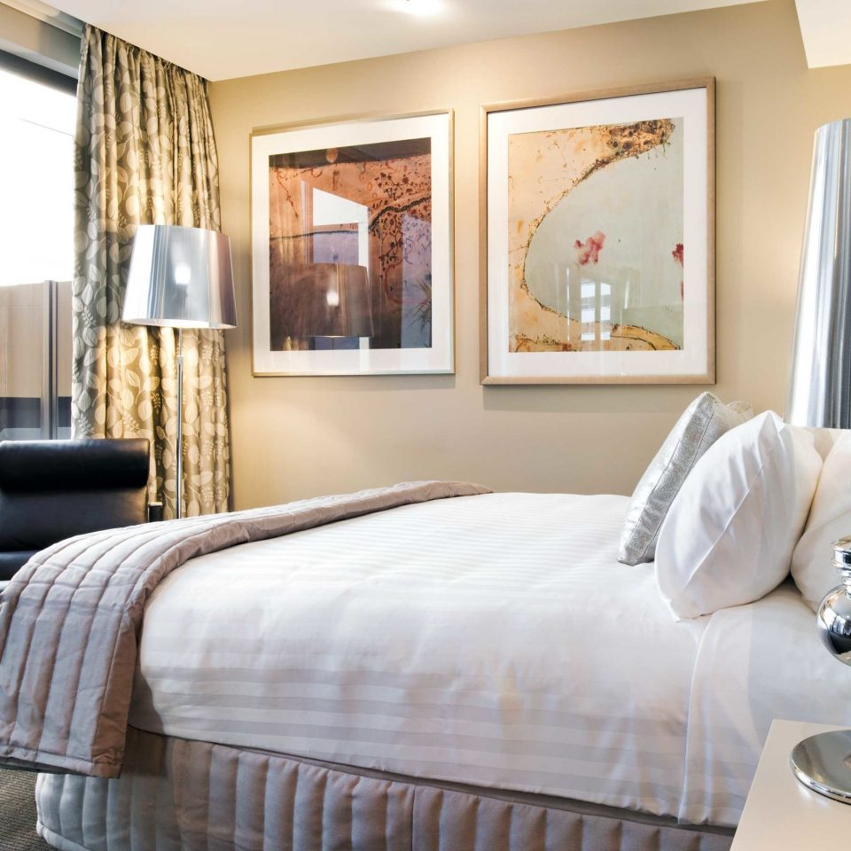 Australia Bedroom Classic Hotels Melbourne property Suite living room home