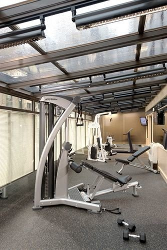 structure gym sport venue automotive exterior
